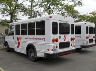 YMCA Bus Fleet Graphics