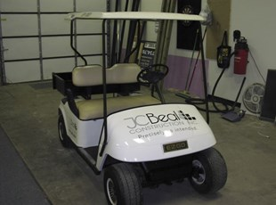 Golf Cart Lettering