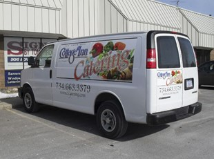 Catering Van Full Color Graphics