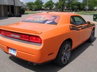 Dodge Challenger Window Perf