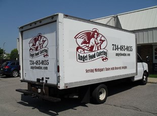 Angel Food Catering Box Truck