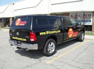 W4 Country Pick-Up Graphics