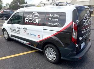 Roof Advance Transit Partial Wrap
