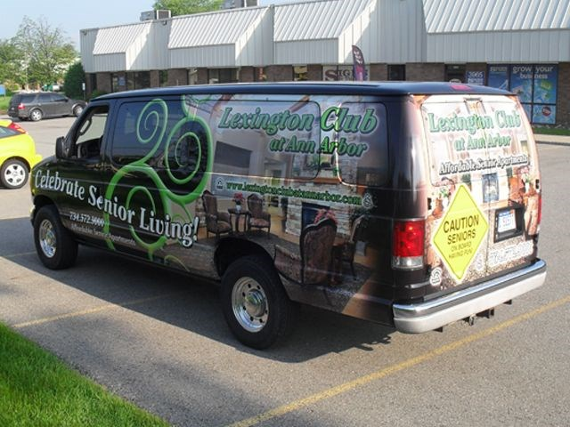 Lexington Club of Ann Arbor Van Wrap