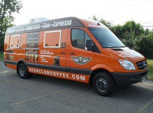 Bearclaw Coffee Sprinter Van Warp