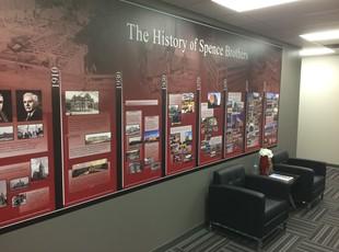 Wall Graphics & Murals | Indoor Vinyl Lettering & Graphics | Construction | Ann Arbor, Michigan
