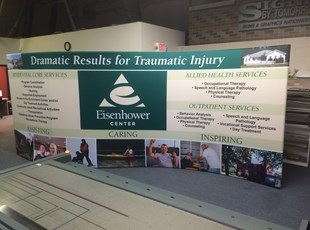 Trade Show Booths | Banner Frames & Stands | Healthcare | Ann Arbor, Michigan