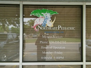 Window Graphics | Wall Graphics & Murals | Healthcare | San Antonio, Texas
