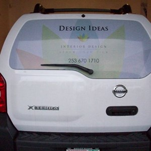 Design Ideas Back Window - See Through Material