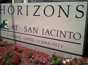 Signs By Tomorrow Temecula Murrieta Monument Sign - San Jacinto Monument Sign