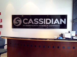 Cassidian Acrylic with Stand-offs
