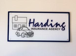 Harding Insurance Acrylic