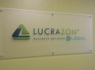 acrlic with standoffs, lucrazon, irvine, signs by tomorrow, murrieta