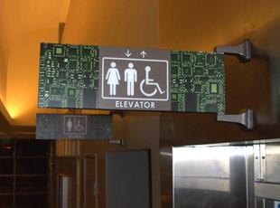 MSJC Restroom ADA Sign