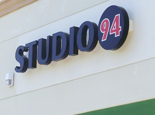Illuminated Dimensional Lettering Studio 94 murrieta temecula signs by tomorrow
