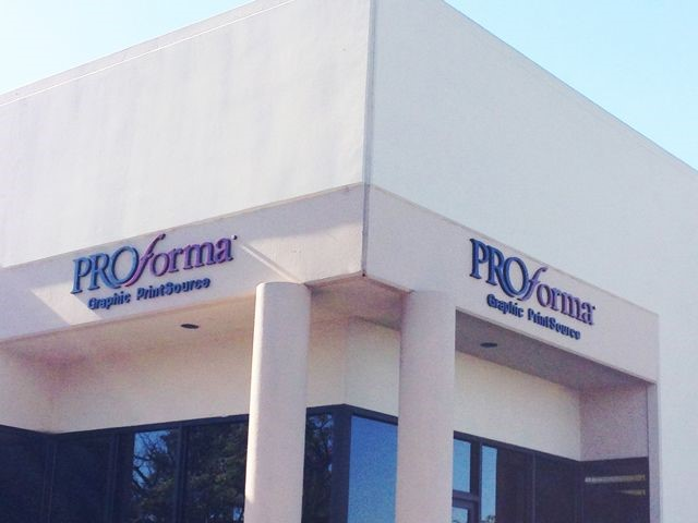 Proforma Dimensional Lettering
