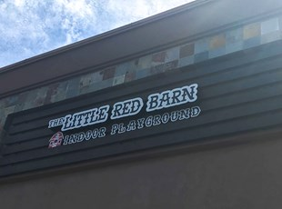 Dimensional Lettering Little Red Barn Murrieta