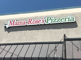 Dimensional Lettering Mama Rose's Murrieta
