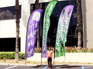 Temecula Feather Banners