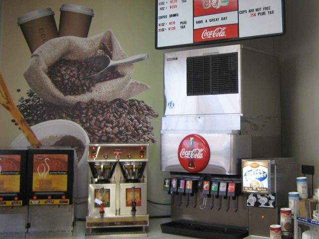 Convenience Store Wall Covering