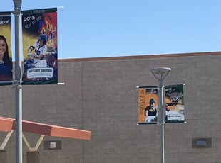 murrieta mesa high school, mmhs, pole banner, outdoor, signs by tomorrow, temecula, inland valley, southern california