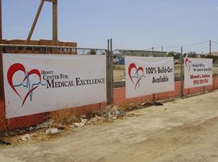 Hemet Medical Outdoor Banners