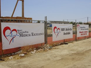 Hemet Medical Outdoor Banners