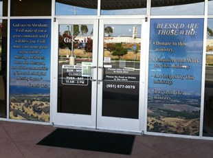 2nd Hand Window Graphics