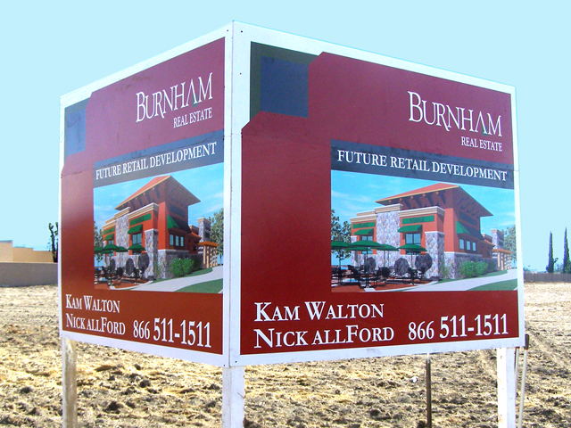 Commercial Real Estate Sign