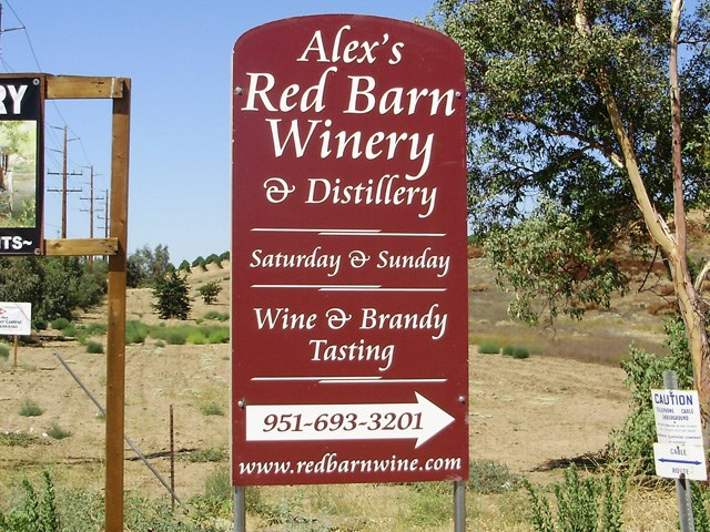 Alex's Red Barn Winery