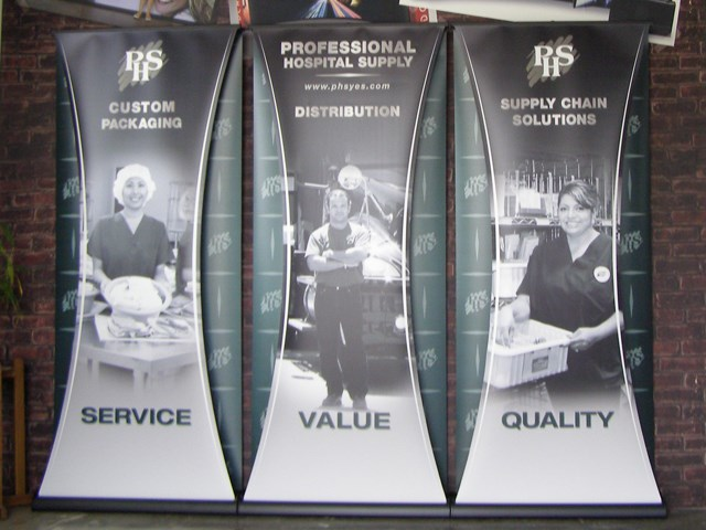 Two-sided Banner Stands