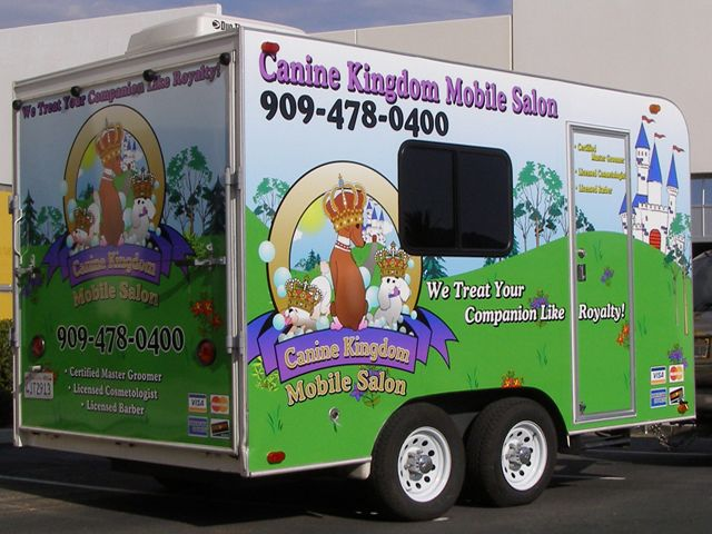 Trailer Wraps - Custom vehicle graphics