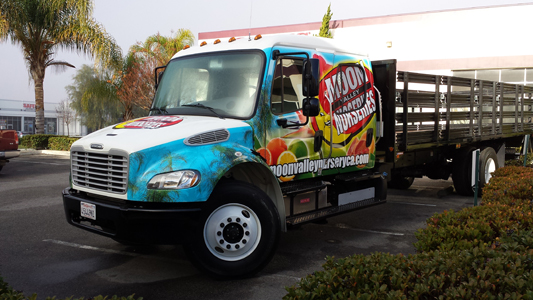 Flatbed Truck Wrap_Moon Valley Nurseries
