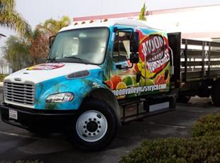 Flatbed Truck Wrap_Moon Valley Nurseries