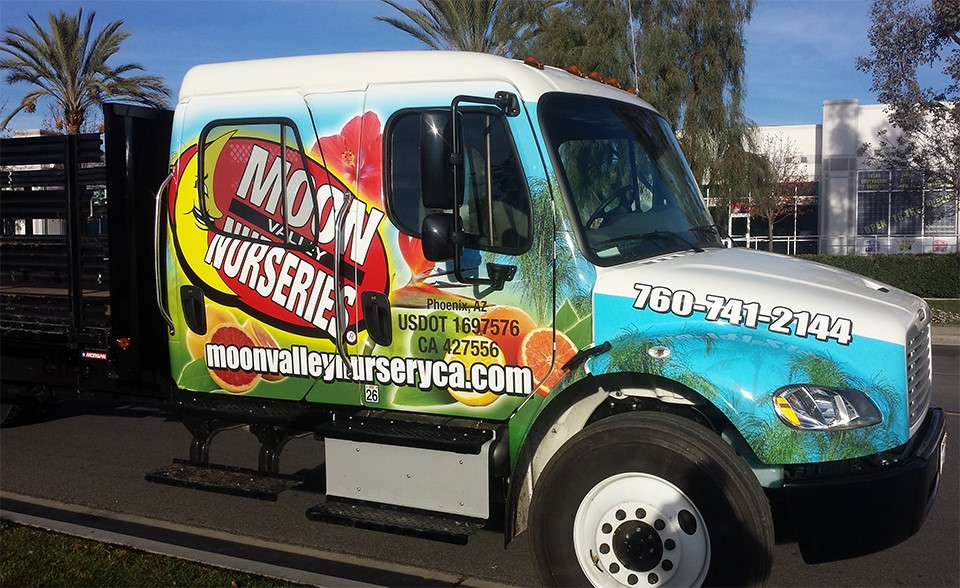 Moon Valley Stakebed Truck Wrap