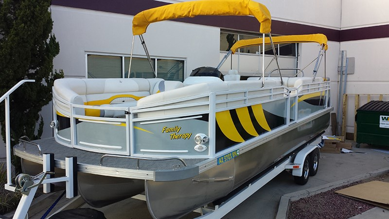 Collins Roofing_Boat Wrap