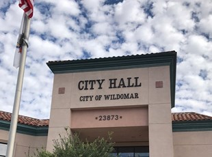 dimensional lettering, outdoor, signs by tomorrow, inland valley, southern california, wildomar, city hall, murrieta