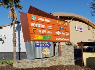 Pylone Signs | Illuminated Signages | Monument Signs  Retail | Murrieta