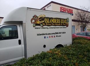 Islanders Luau Vehicle Graphics | Lake Elsinore