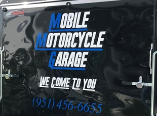 Vehicle Lettering Graphics Mobile Motorcycle Garage Murrieta