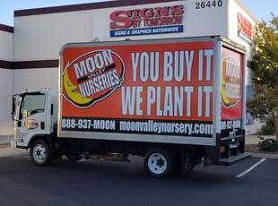 Moon Valley Vehicle Wrap | Retail | Escondido, CA