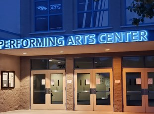 Halo Style Illuminated Dimensional Lettering & Logos | Schools & Colleges | Murrieta