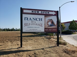 Large MDO (plywood) Commercial Development Sign