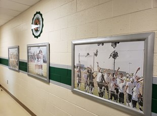 Interior Dimensional Lettering & Logos | Murrieta Mesa High School