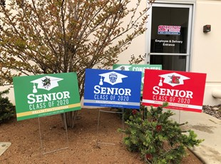 Graduation Signs | High Schools & Colleges | Lake Elsinore