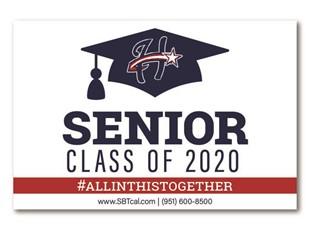 Graduation Signs | Heritage High School| Perris Menifee