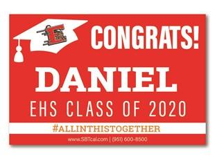 Graduation Signs | High Schools, Colleges & Universities | Lake Elsinore