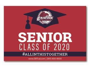 Graduation Signs | Temecula Great Oak High School Wolfpack
