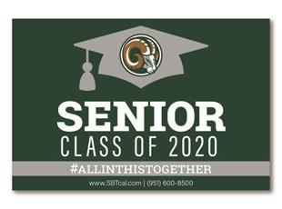 Graduation Signs | Murrieta Mesa High School Rams