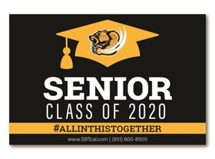 Graduation Signs | Temecula High School Golden Bears